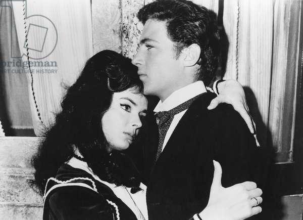 La maschera del demonio - Black Sunday - Le masque du demon 1960 directed by Mario Bava (photo); Galatea Film / Jolly Film; Barbara Steele; John Richardson