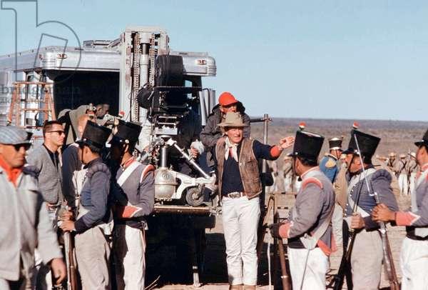 On The Set, John Wayne Directs., The Alamo 1960 Directed By John Wayne