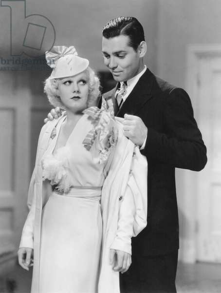 Jean Harlow And Clark Gable