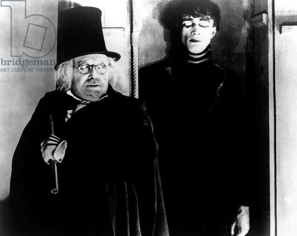 Werner Krauss And Conrad Veidt, Das Cabinet Des Dr. Caligari / Le Cabinet Du Docteur Caligari Di