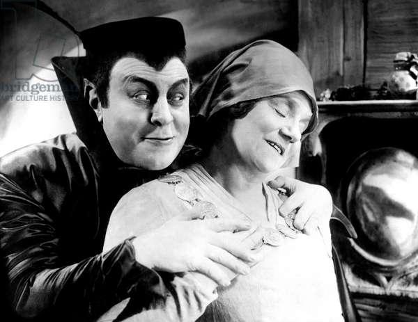 Faust 1926 directed by Friedrich Wilhem Murnau; Emil Jannings; Yvette Guilbert