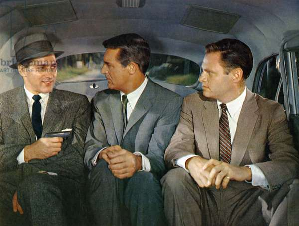 Robert Ellenstein, Cary Grant And Adam Williams.