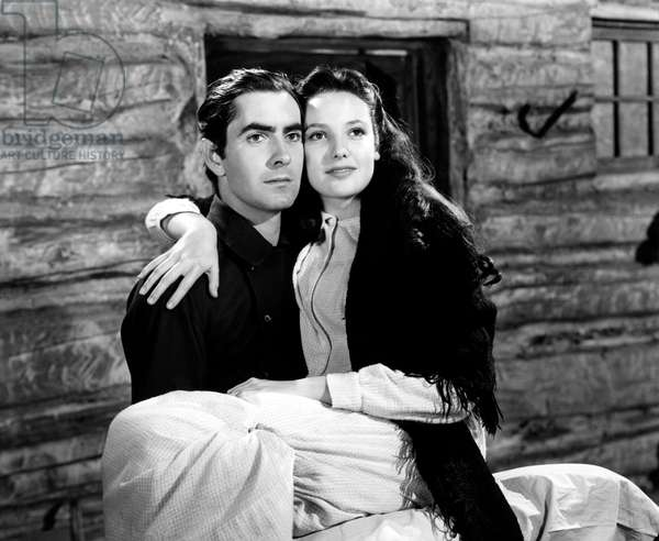 Tyrone Power And Linda Darnell, Brigham Young 1940 Directed By Henry Hathaway