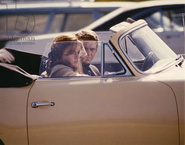 Jacqueline Bisset And Steve Mcqueen, Bullitt 1968 Directed By Peter Yates