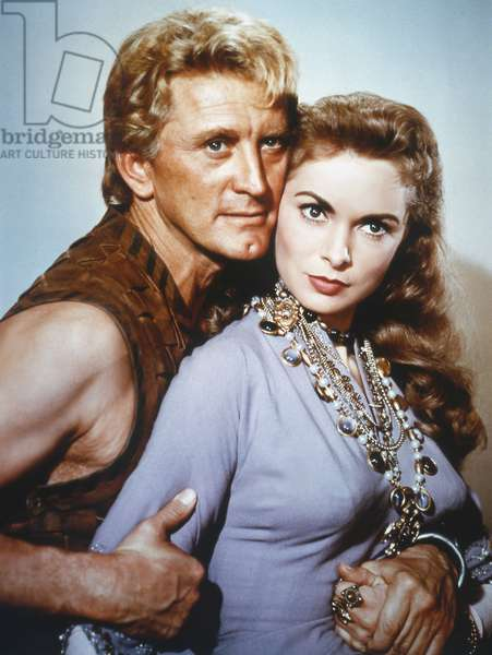 Kirk Douglas And Janet Leigh, The Vikings 1958 Directed By Richard Fleischer