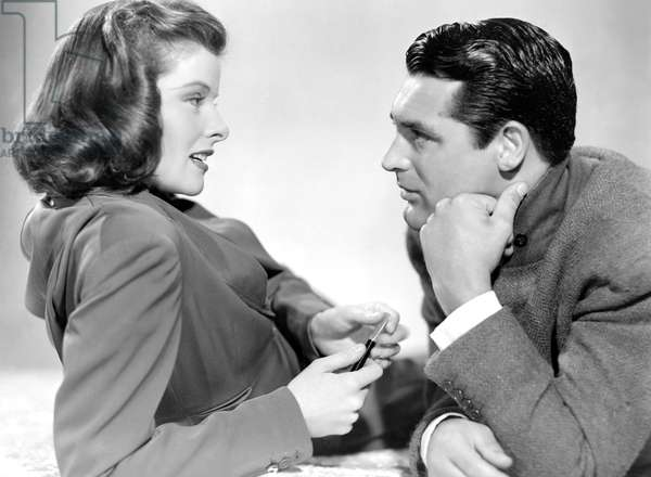 Katharine Hepburn And Cary Grant