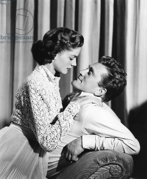 Lauren Bacall And Kirk Douglas, Young Man With A Horn 1950 Directed By Michael Curtiz