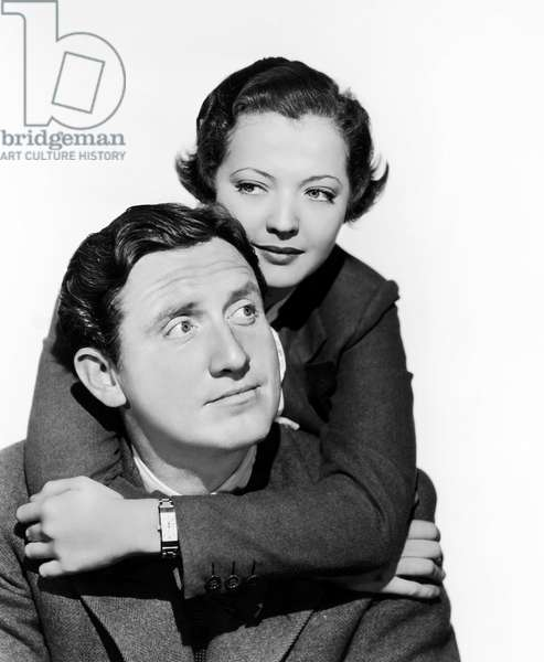 Spencer Tracy And Sylvia Sidney