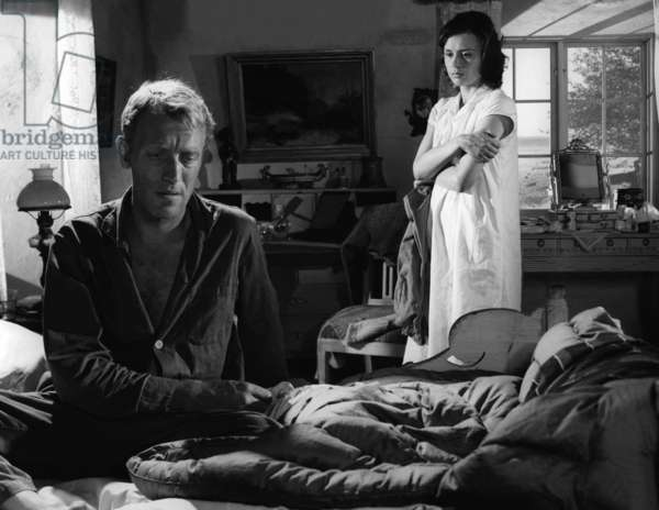 Max Von Sydow And Harriet Andersson,