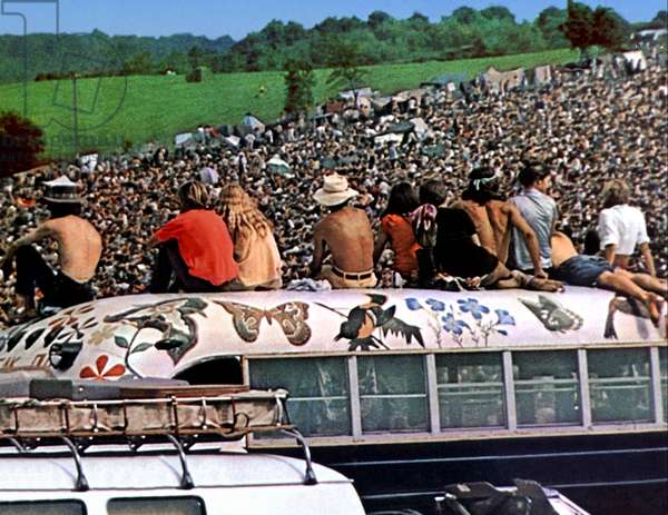 People, Hippies, Woodstock 1970 Directed By Michael Wadleigh