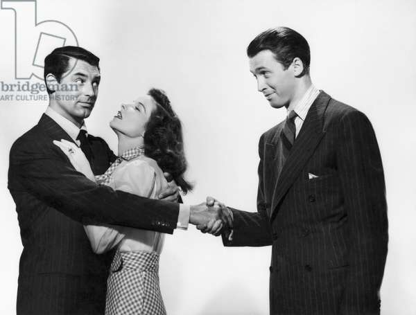 Cary Grant, Katharine Hepburn And James Stewart.