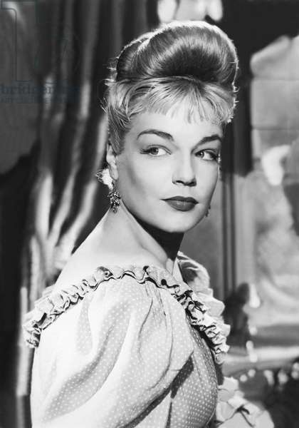 Simone Signoret, Casque D'Or  1951 Directed By Jacques Becker