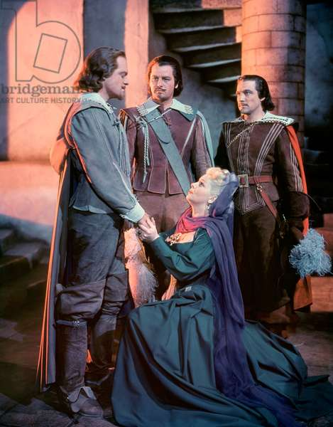 Van Heflin, Gig Young, Lana Turner And Gene Kelly, The Three Musketeers 1948 Directed By George Sidney