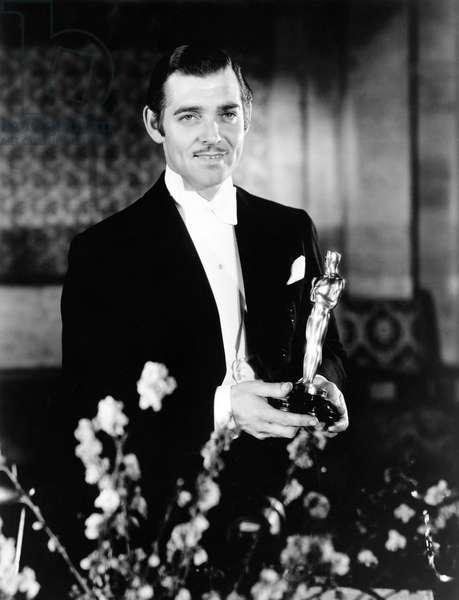 Clark Gable Best Actor To It Happened One Night (1934), Academy Awards 1935