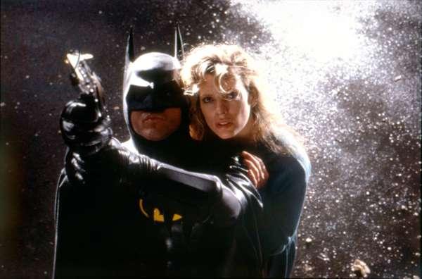 Jack Nicholson And Kim Basinger., Batman 1989 Directed By Tim Burton