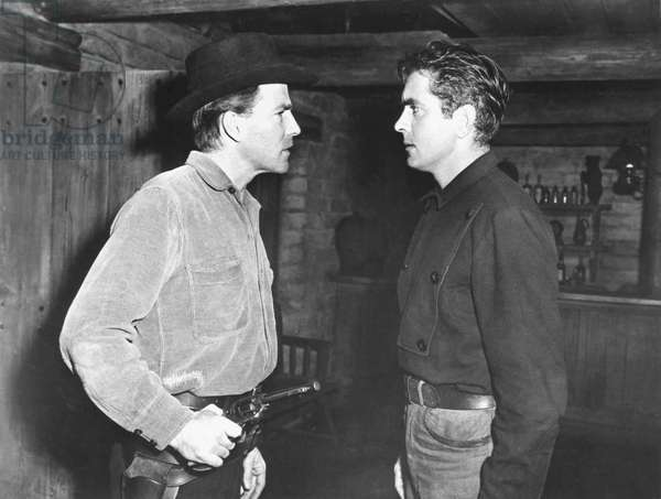 Rawhide - L'attaque de la malle poste 1951 directed by Henry Hathaway (photo); Twentieth Century Fox Films Corporation; Hugh Marlowe; Tyrone Power