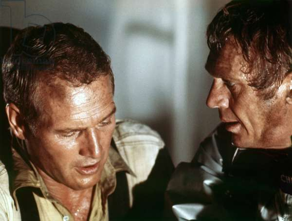 Paul Newman And Steve Mcqueen, The Towering Inferno 1974 Directed By John Guillermin