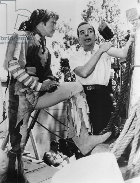 On The Set, Vincente Minnelli Directs Gene Kelly.