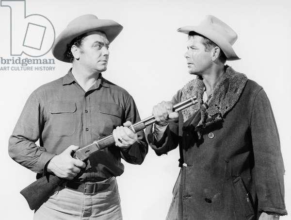 Ernest Borgnine And Glenn Ford