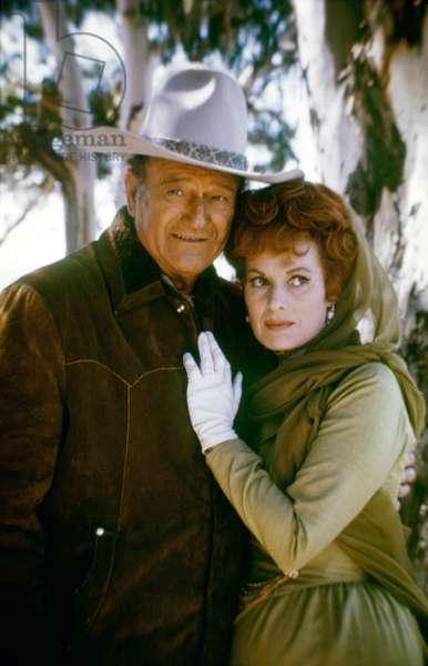 John Wayne And Maureen O'Hara, Big Jake 1971 Directed By George Sherman And John Wayne (Uncredi