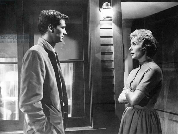Anthony Perkins And Janet Leigh