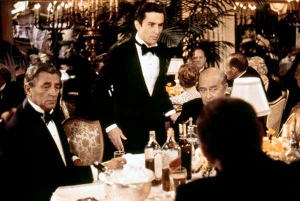 Robert Mitchum, Robert De Niro And Ray Milland.