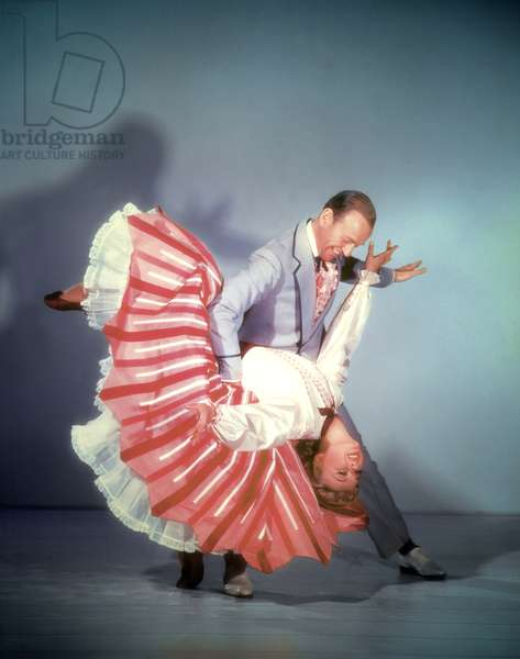 Fred Astaire And Vera-Ellen, The Belle Of New-York 1952 Directed By Charles Walters