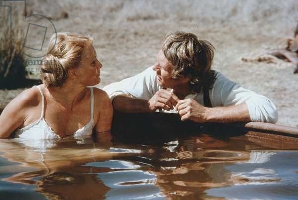 Linda Evans And Steve Mcqueen, Tom Horn 1980 Directed By William Wiard