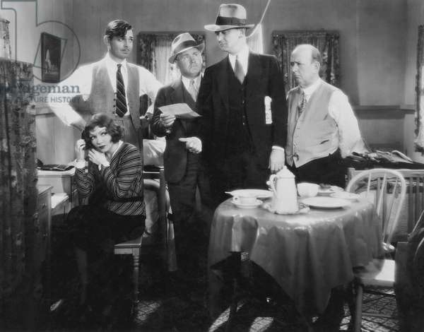 Claudette Colbert And Clark Gable