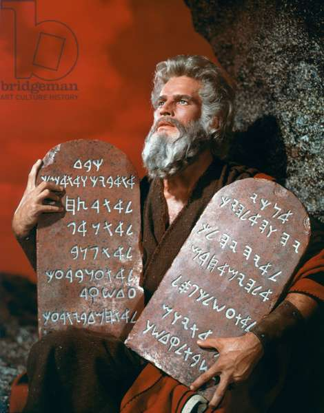 Charlton Heston, The Ten Commandments 1956 Directed By Cecil B. Demille