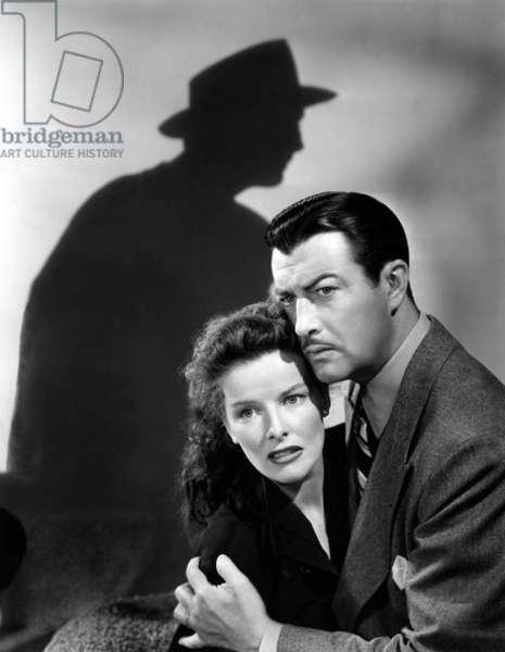 Lame de fond Undercurrent de VincenteMinnelli avec Katharine Hepburn et Robert Taylor, 1946 (photo b/w)
