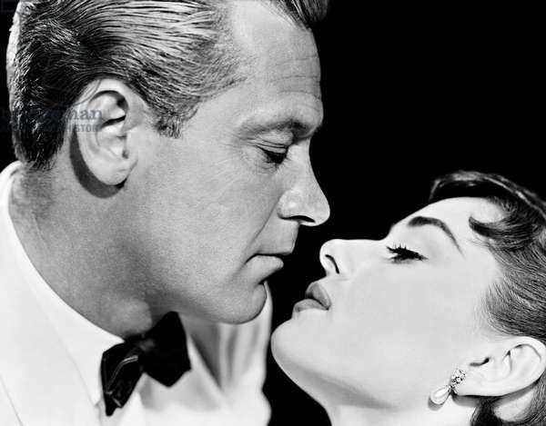 William Holden And Audrey Hepburn