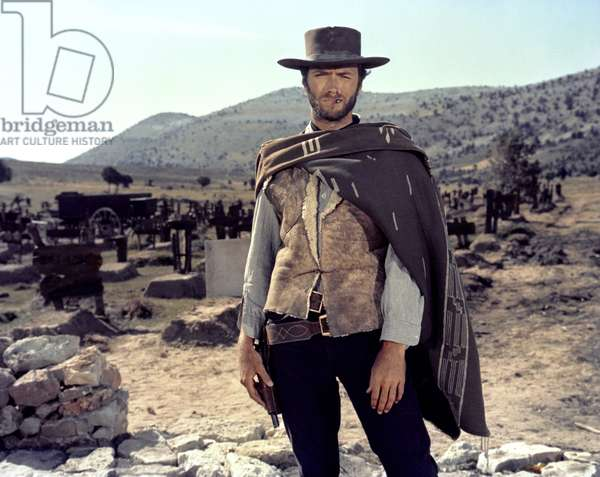 THE GOOD, THE BAD AND THE UGLY, 1966 directed by SERGIO LEONE Clint Eastwood (photo)