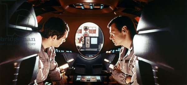 Gary Lockwood And Keir Dullea, 2001 A Space Odyssey 1968 Directed By Stanley Kubrick
