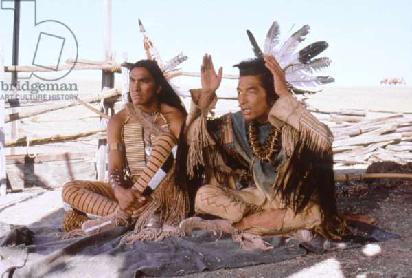 Rodney A. Grant And Graham Greene, Dances With Wolves 1990 Directed By Kevin Costner