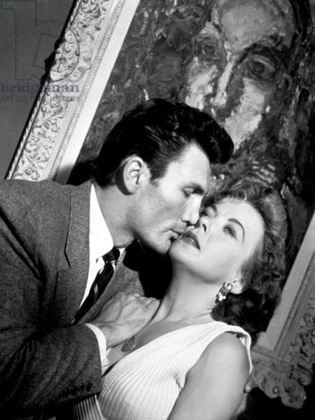 Jack Palance And Ida Lupino, The Big Knife 1955 Directed By Robert Aldrich