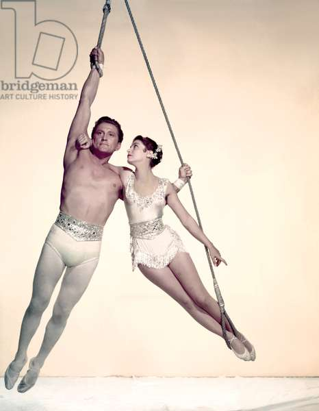 Kirk Douglas And Pier Angeli, The Story Of Three Loves 1953 Directed By Gottfried Reinhardt