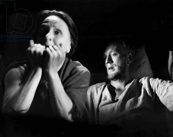 Birgitta Valberg And Max Von Sydow