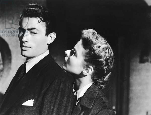 Gregory Peck And Ingrid Bergman