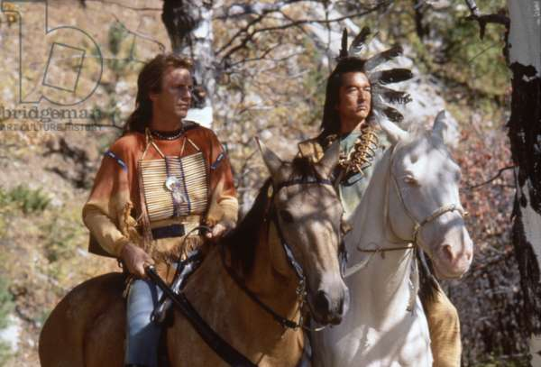 Kevin Costner And Graham Greene, Dances With Wolves 1990 Directed By Kevin Costner