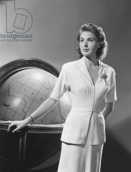 Ingrid Bergman, Casablanca 1943 Directed By Michael Curtiz