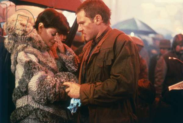 Sean Young And Harrison Ford, Blade Runner 1981 Directed By Ridley Scott