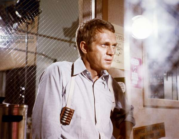 Steve Mcqueen, Bullitt 1968 Directed By Peter Yates