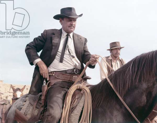 William Holden And Warren Oates, The Wild Bunch 1969 Directed By Sam Peckinpah