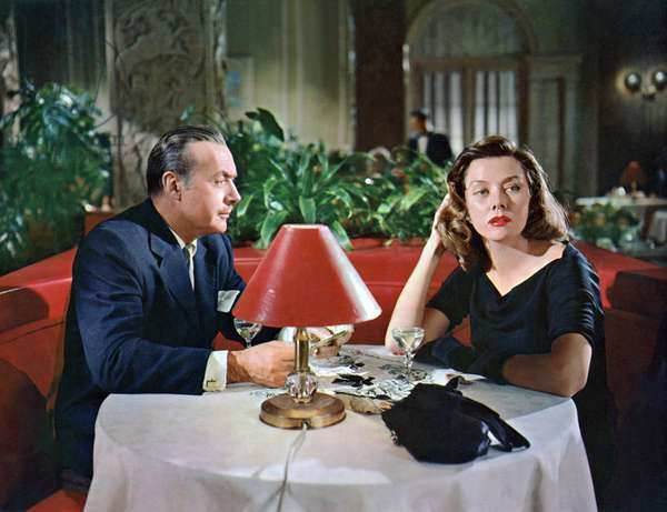 The Cobweb - The spider web 1955 directed by Vincent Minnelli; Charles Boyer; Gloria Grahame