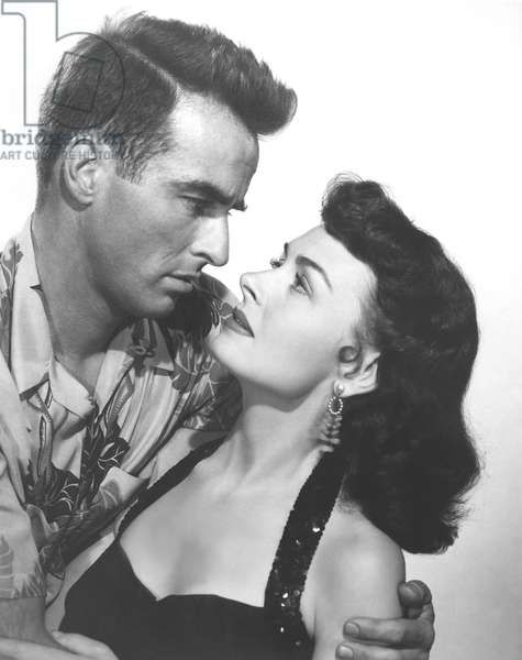 Montgomery Clift And Donna Reed