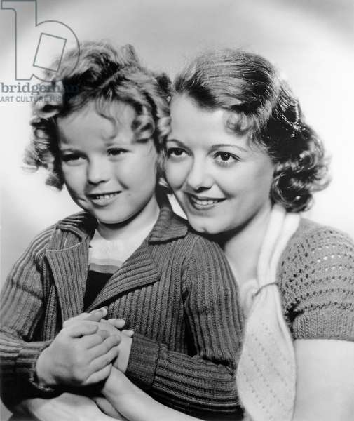Shirley Temple And Janet Gaynor, Change Of Heart 1934 Directed By John G. Blystone