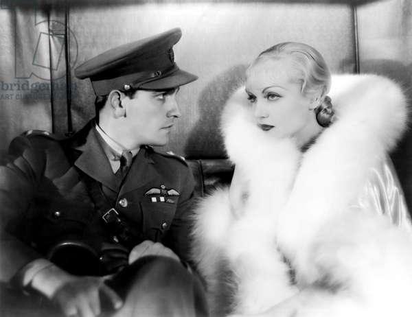 Fredric March And Carole Lombard