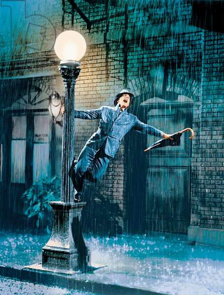 Singin' in the Rain directed by Gene Kelly and Stanley Donen, 1952