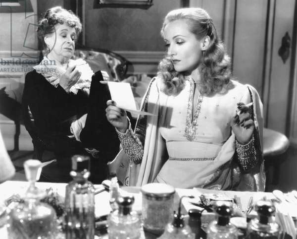 Maude Eburne And Carole Lombard, To Be Or Not To Be 1942 Directed By Ernst Lubitsch